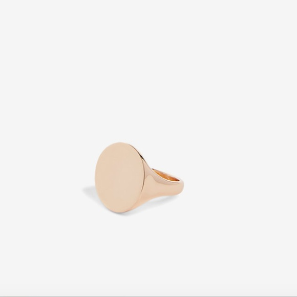 Express Jewelry - NEW NWT Express Metal Signet Ring Size 6